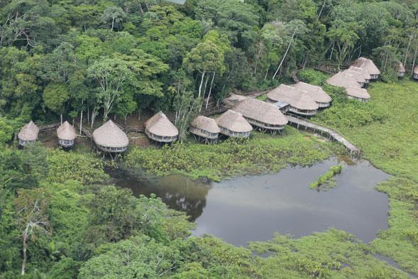 Amazon pristine forest lodge