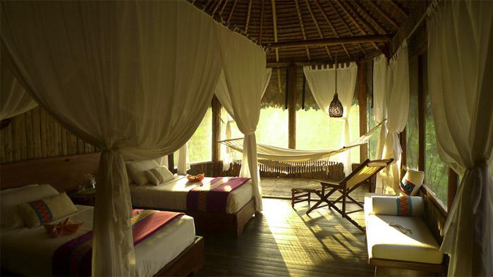 Rooms Kapawi ecolodge